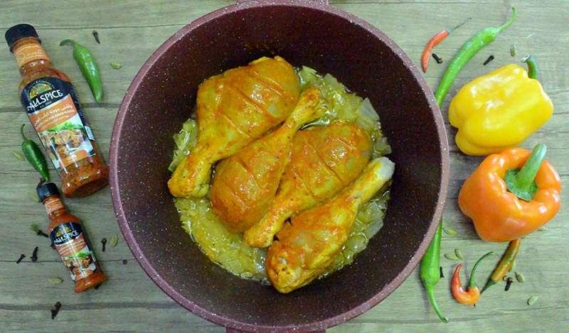 پختن ران مرغ
