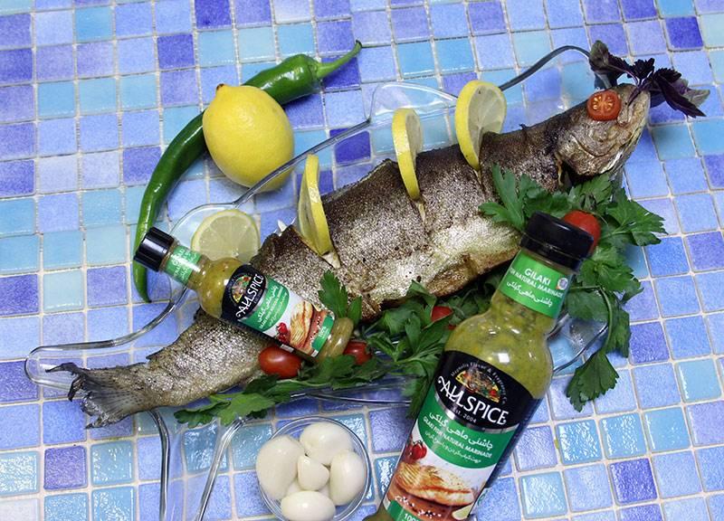 ماهی سرخ شده مجلسی آلس پایس